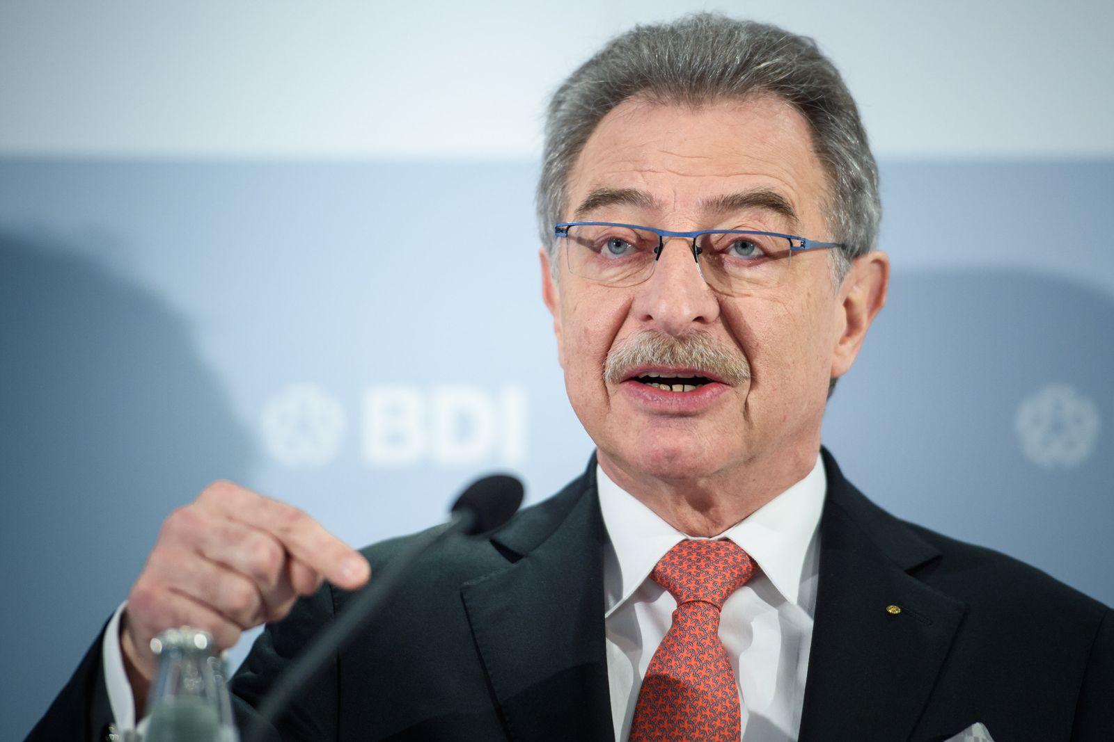 Jahresauftakt des Bundesverbandes der Deutschen Industrie