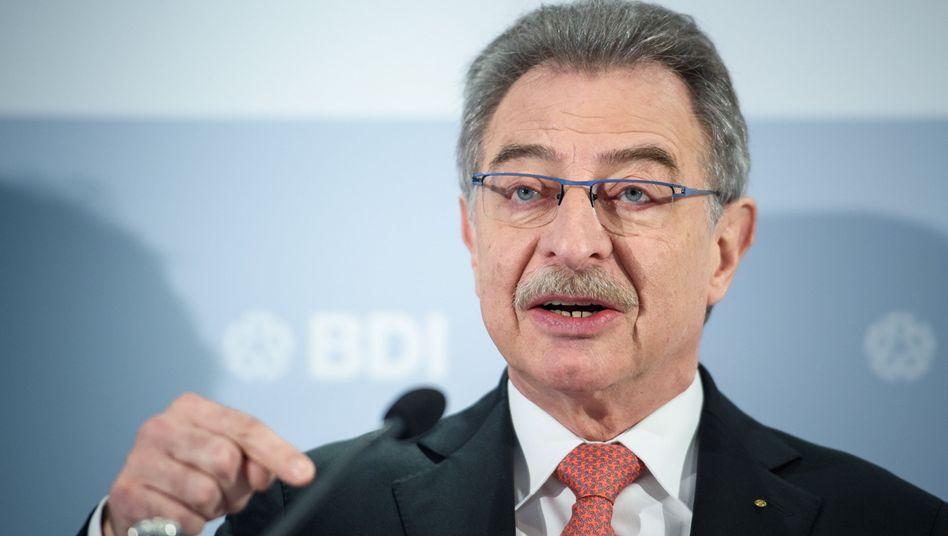 BDI-Präsident Dieter Kempf (Archivbild)