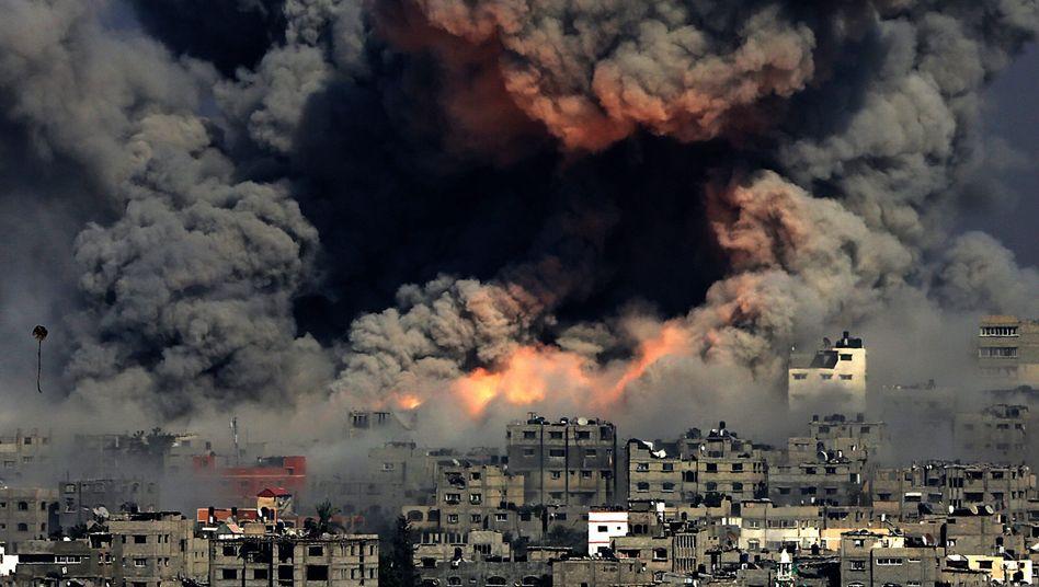 Gaza-Stadt im Juli 2014: Massiver Beschuss durch die israelische Armee