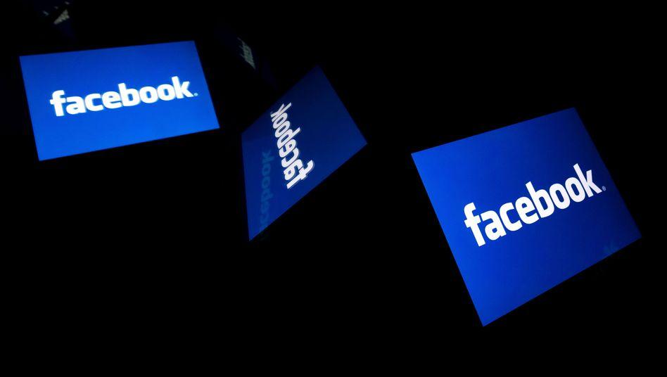 Facebook-Logo: Kampf dem Wahlmissbrauch