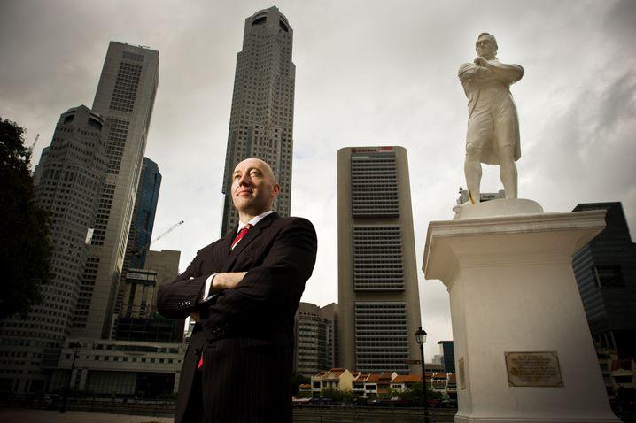 Markus Wächter, 43, ist Direktor von TUM Asia, dem Singapurer Standort der TU München