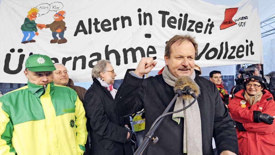 """Ver.di-Boss Bsirske: """"Anfall von Demagogie und Zynismus"""""""