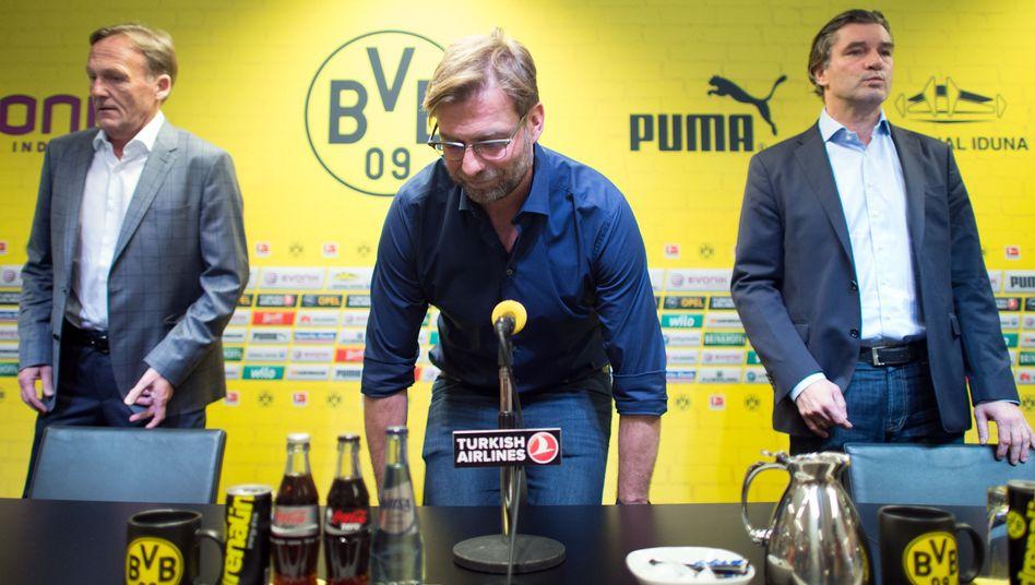 Pressekonferenz in Dortmund: Nur auf Deutsch