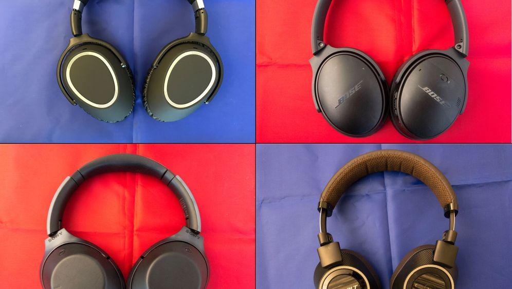 Noise-Cancelling-Kopfhörer im Test: Die sorgen für Ruhe