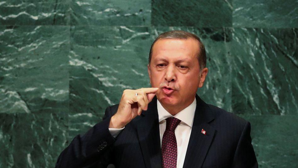 Türkischer Präsident Recep Erdogan