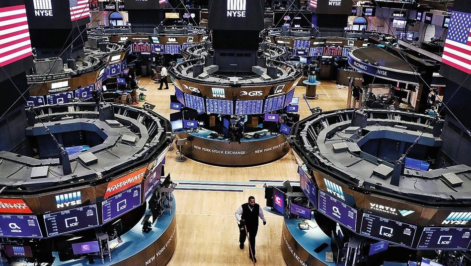 Börse in New York:Vom Höhenflug der Gemeinschaftswährung geradezu überrumpelt