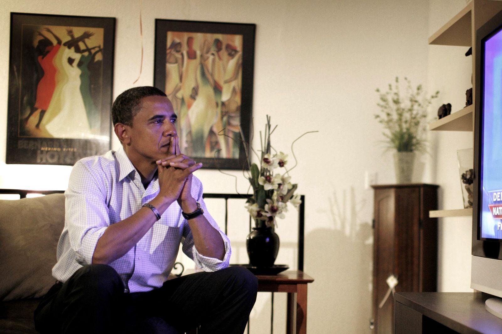 Senator Barack Obama On The Campaign Trail