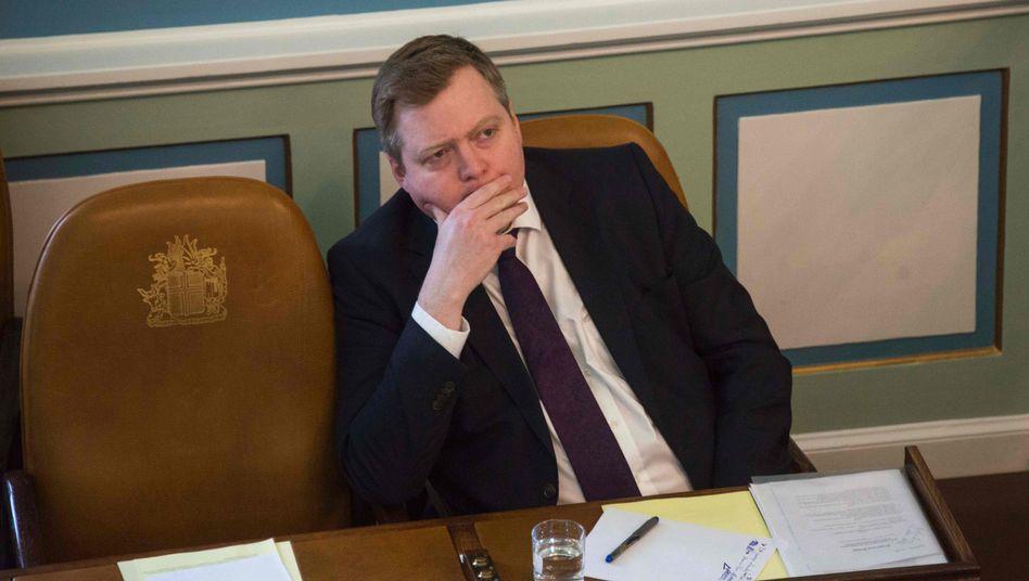 Premier Gunnlaugsson