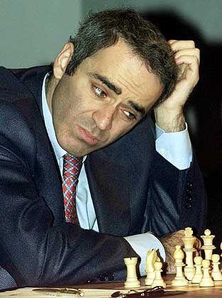 Verlust des Weltmeistertitels: Kasparow