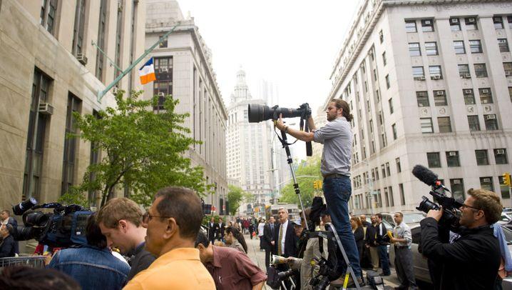 Anhörung in New York: Strauss-Kahns erster Erfolg vor Gericht
