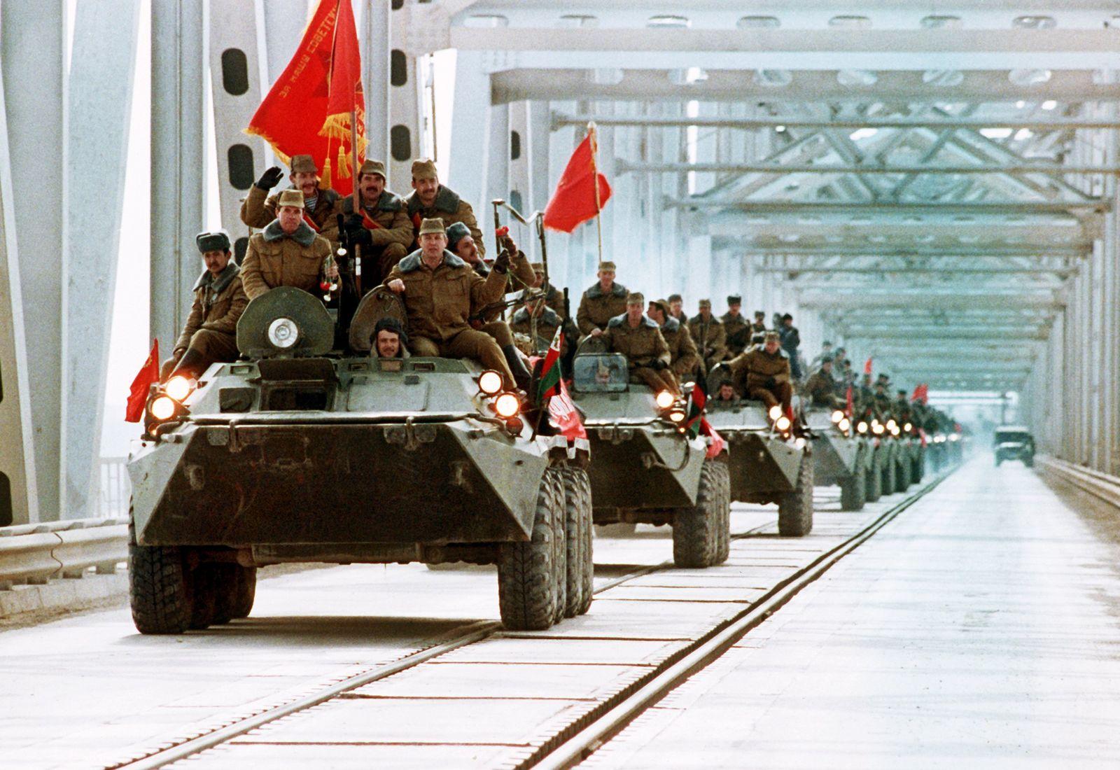 Abzug sowjetischer Truppen aus Afghanistan