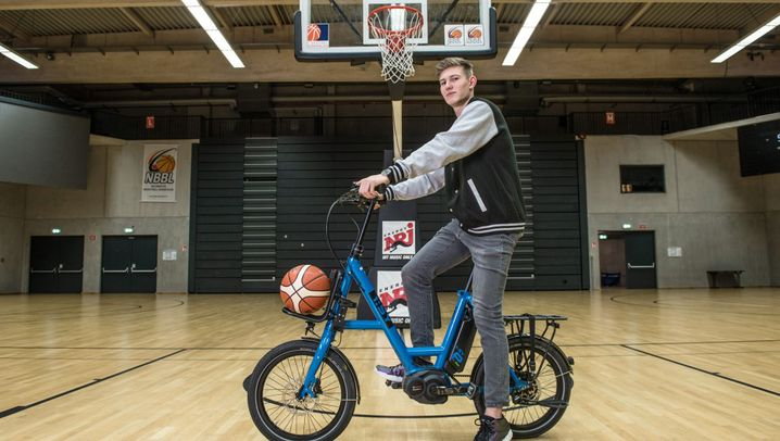 E-Bike i:SY DriveE XXL: Dieses Rad hat keinen Korb verdient