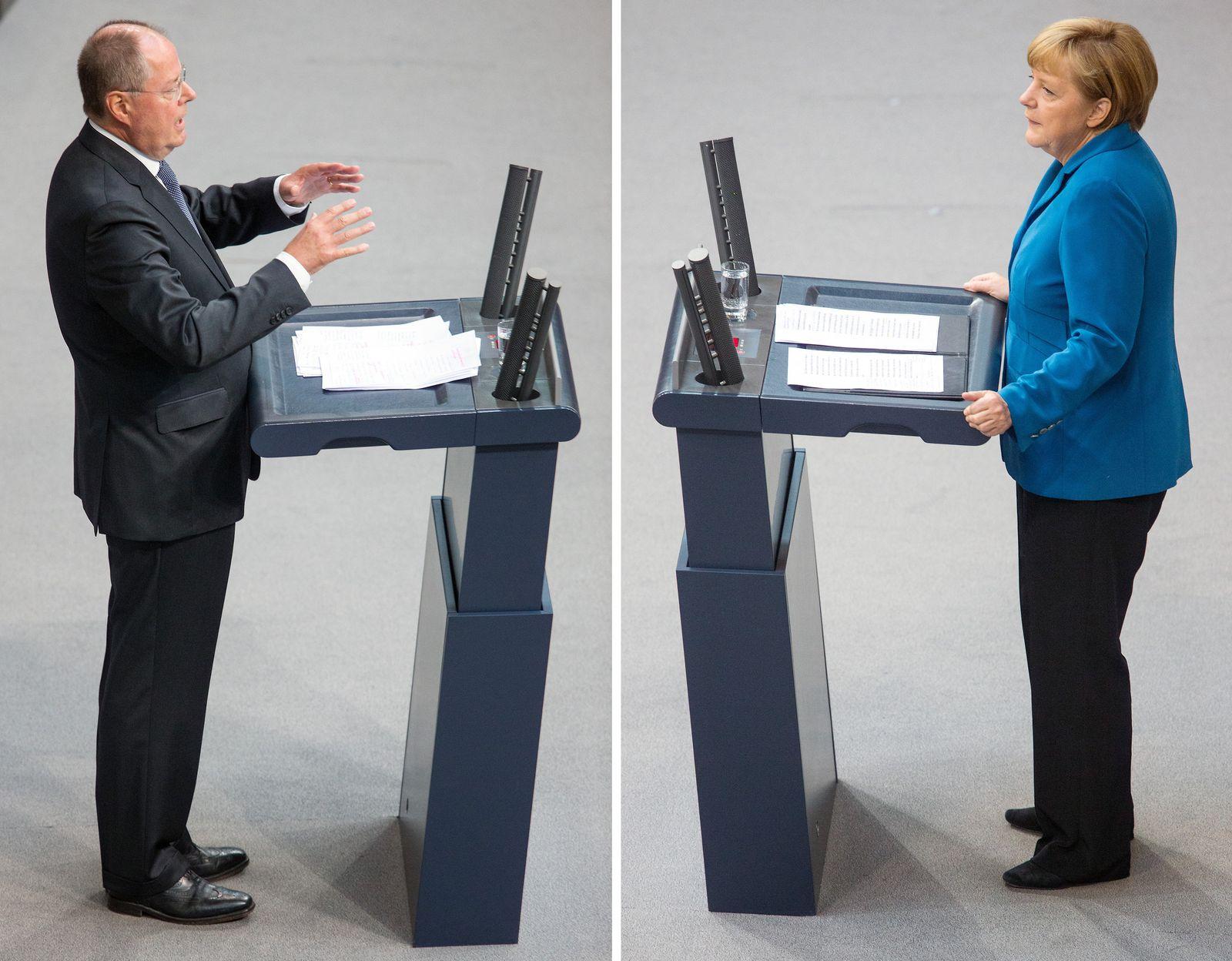 KOMBO Steinbrück / Merkel