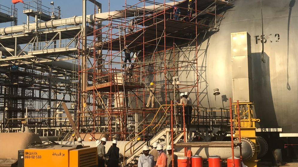 Zerstörte Aramco-Anlagen: Angriff auf das Öl der Saudis