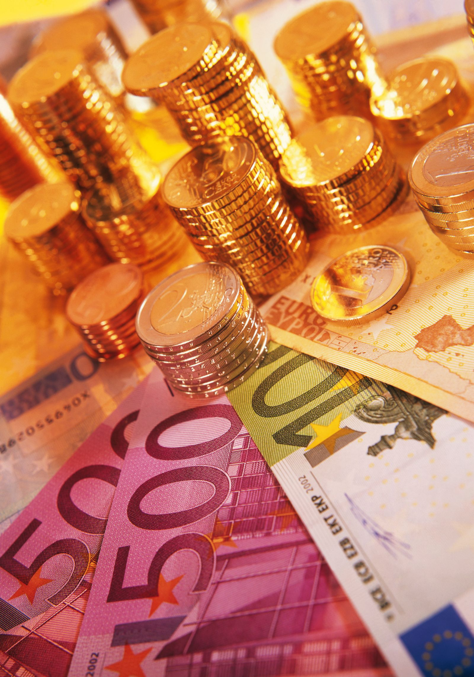 NICHT MEHR VERWENDEN! - Euro / Geldscheine / Reichtum