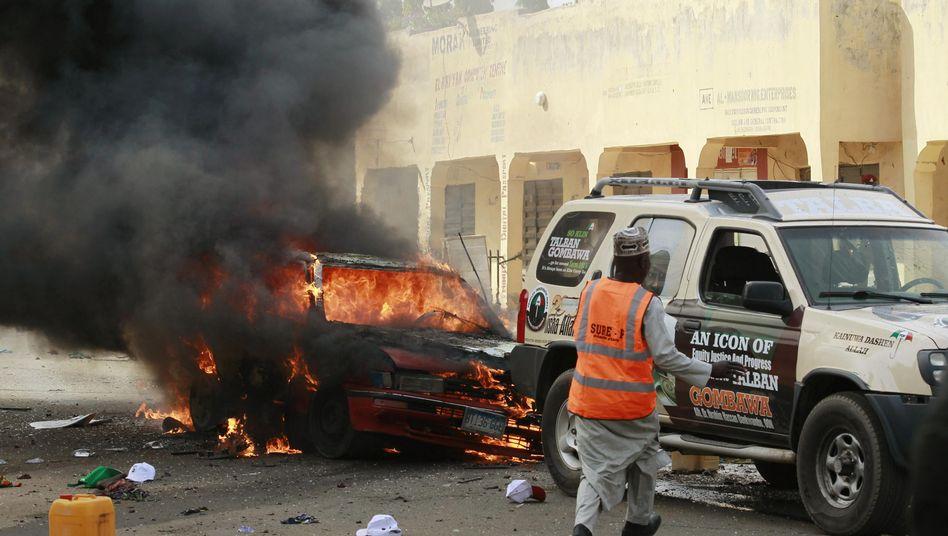 Bombenexplosion in Gombe: Attentat folgte auf Rede des Präsidenten
