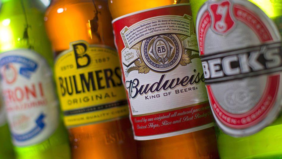 Biermarken von AB InBev und SABMiller