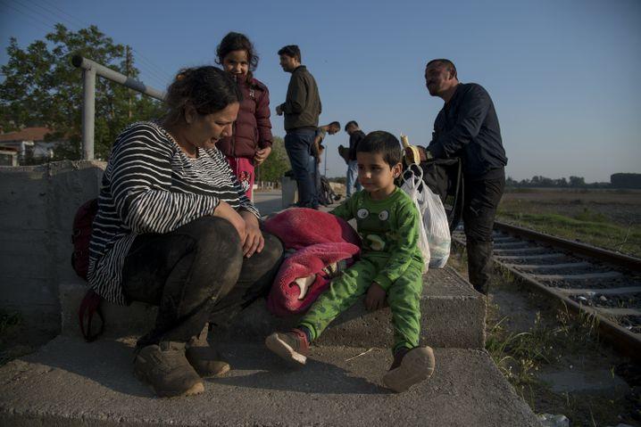 Kurdische Familie in Pythio