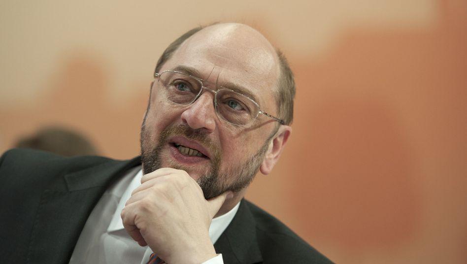 Sozialdemokrat Schulz (im Dezember 2011): Neuer Parlamentspräsident