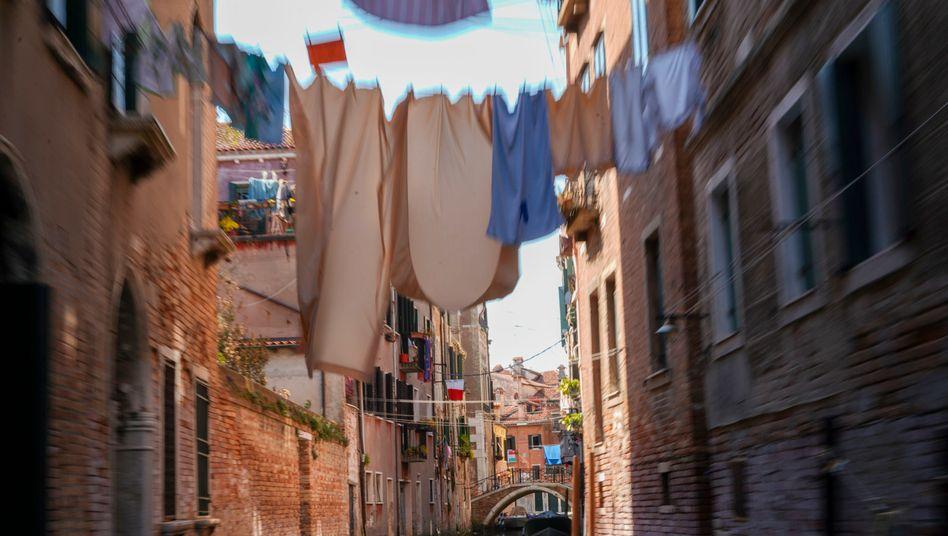 Venedig, Italien: Seit Anfang März dauert der Lockdown in dem Land - die Gefahr häuslicher Gewalt ist gestiegen