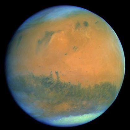 "Mars (aktuelles Bild der ""Osiris""-Kamera an Bord der Raumsonde ""Rosetta""): China und Russland planen Doppelmission"