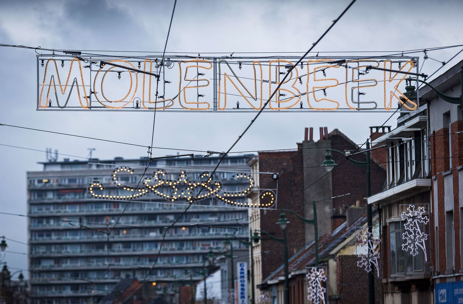 BELGIUM-FRANCE-ATTACKS Molenbeek