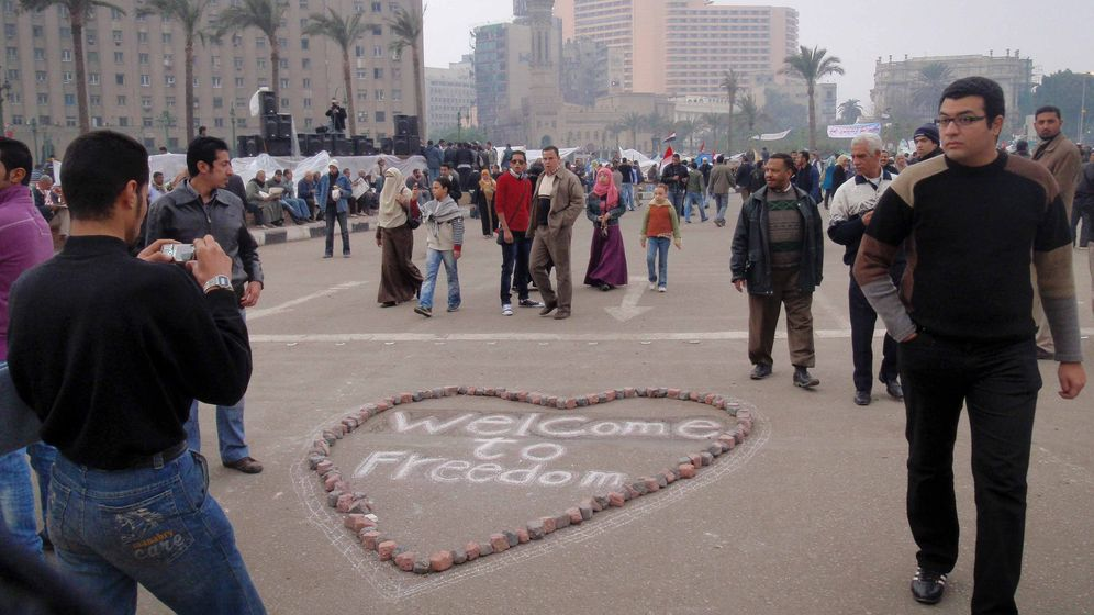 Photo Gallery: Calling Tahrir Square Home