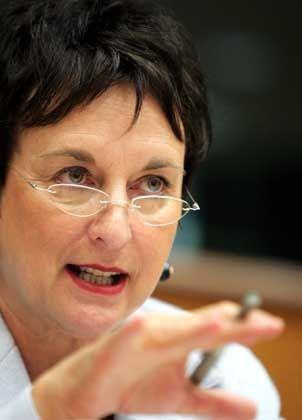 German Minister of Justice Brigitte Zypries.