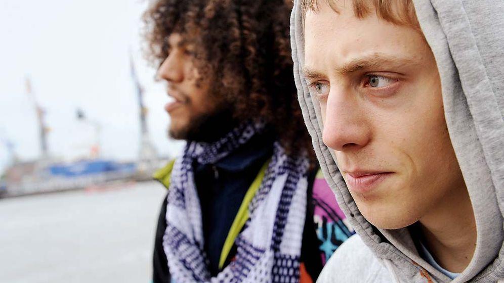 """Junge Straßenmusiker: """"Man kommt an alle Menschen ran"""""""