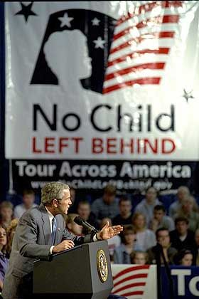 Georg W. Bush: Umstrittene Reform
