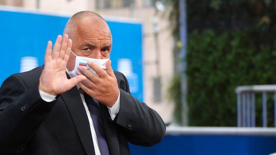 Premier Bojko Borissow erhielt bei der bulgarischen Parlamentswahl nach ersten Ergebnissen die meisten Stimmen