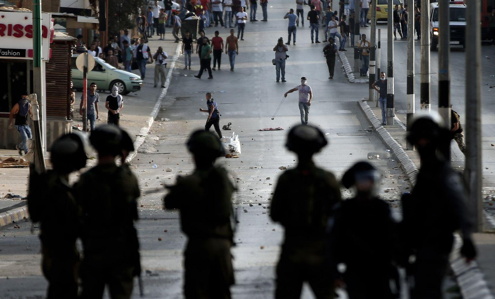 Israel / Unruhe in Westjordanland