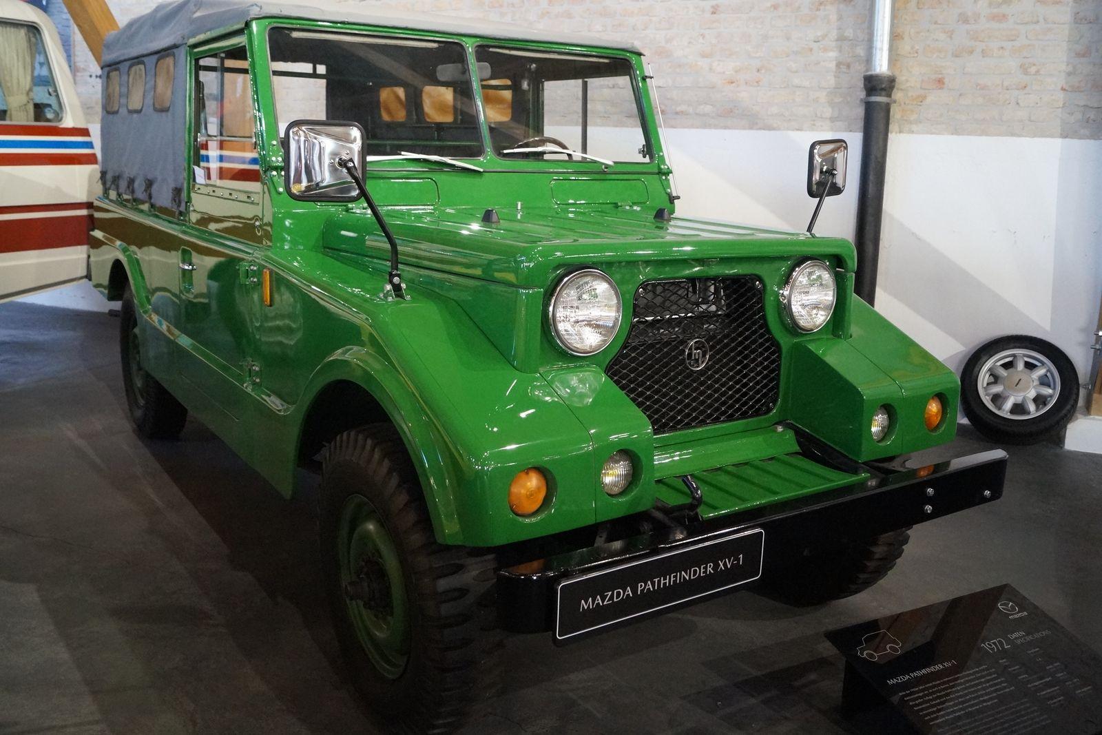 100 Jahre Mazda - Pathfinder