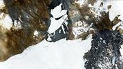 Riesiger Eisbrocken vom größten Gletscher Grönlands abgebrochen
