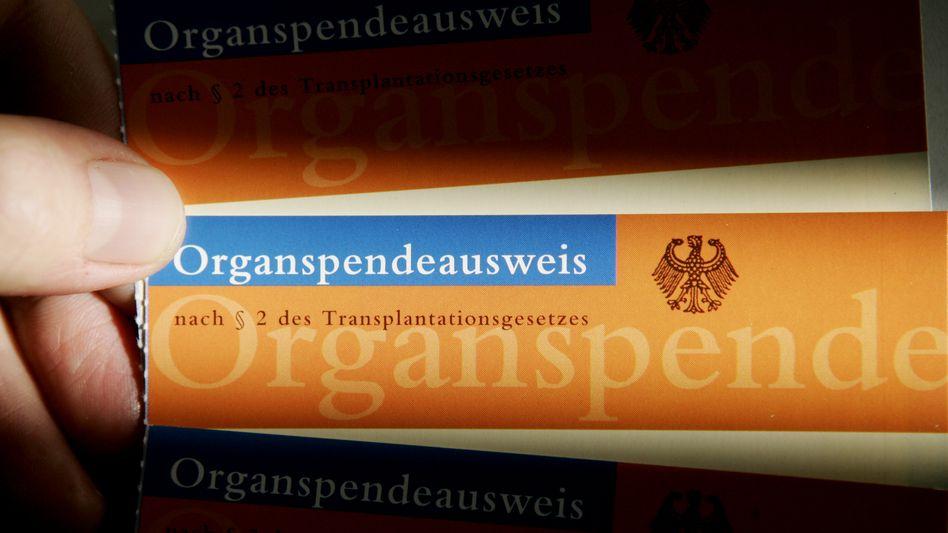 Organspendeausweis: Das Vertrauen mit Transparenz zurückgewinnen
