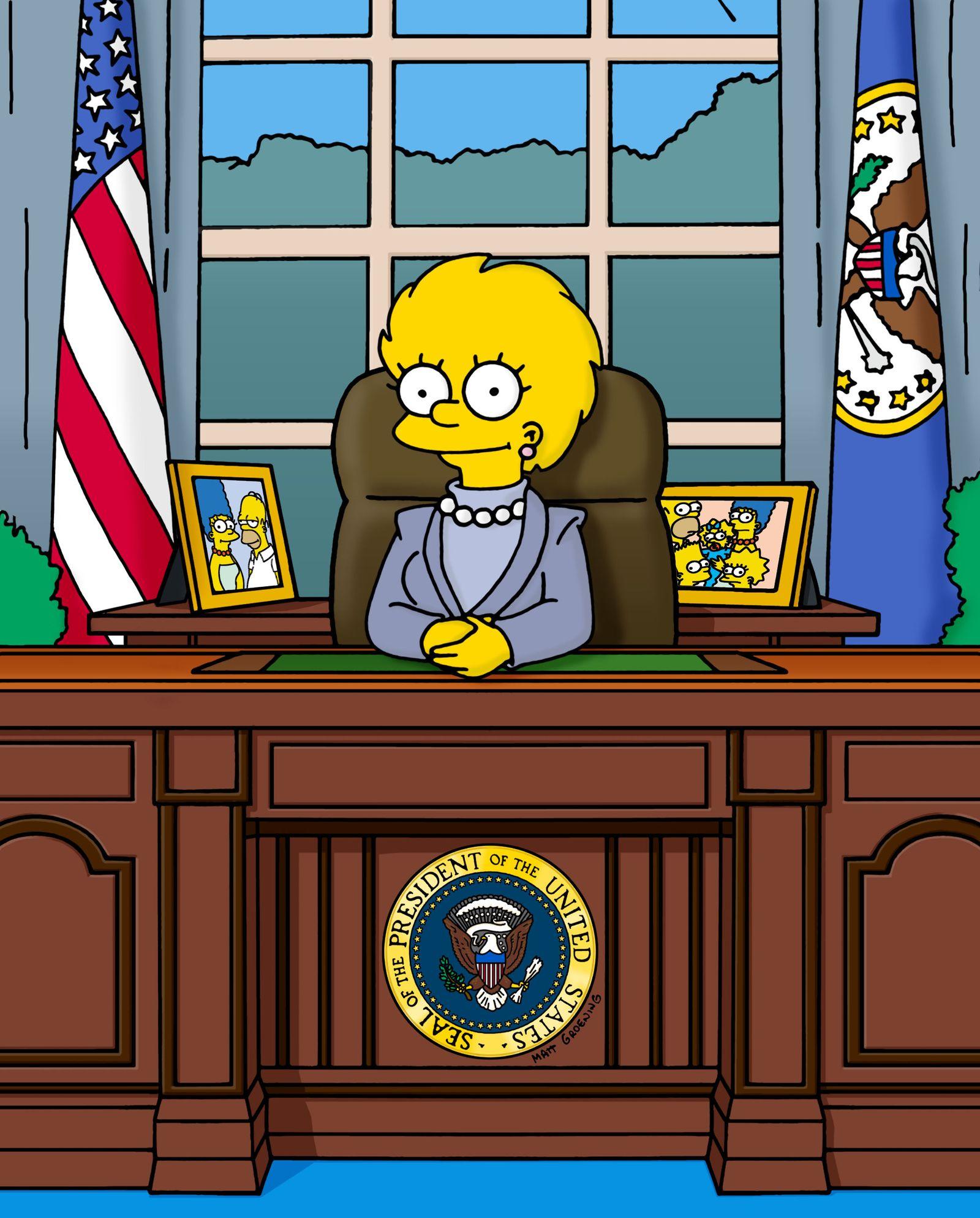 EINMALIGE VERWENDUNG The Simpsons / Lisa Simpson