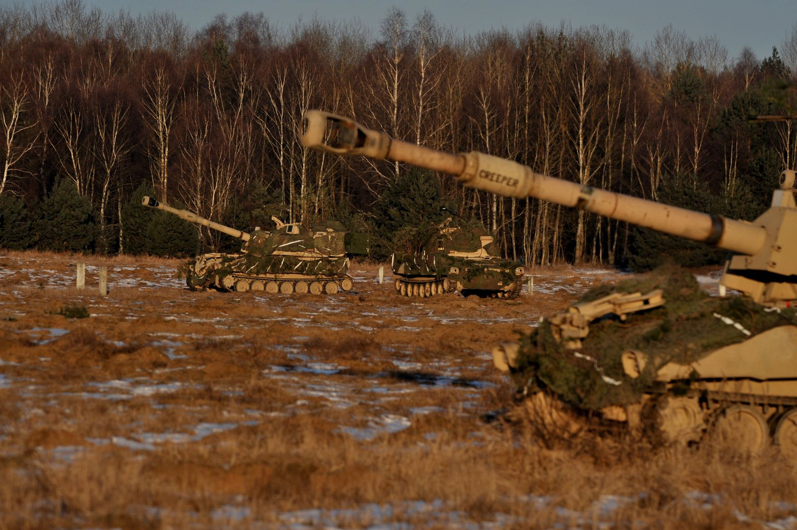 Nato-Übung «Bison Drawsko»