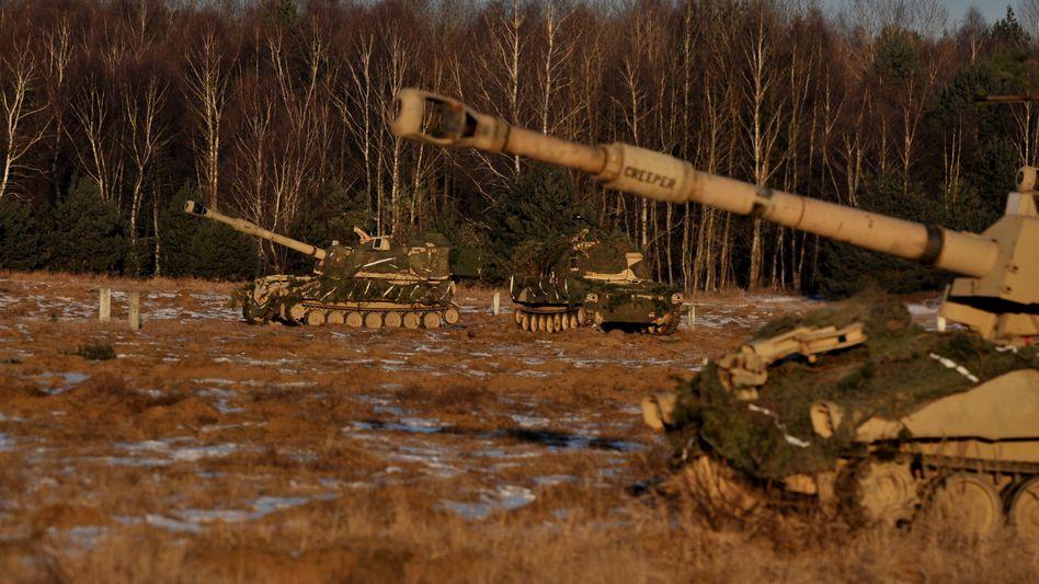 A NATO exercise in Poland