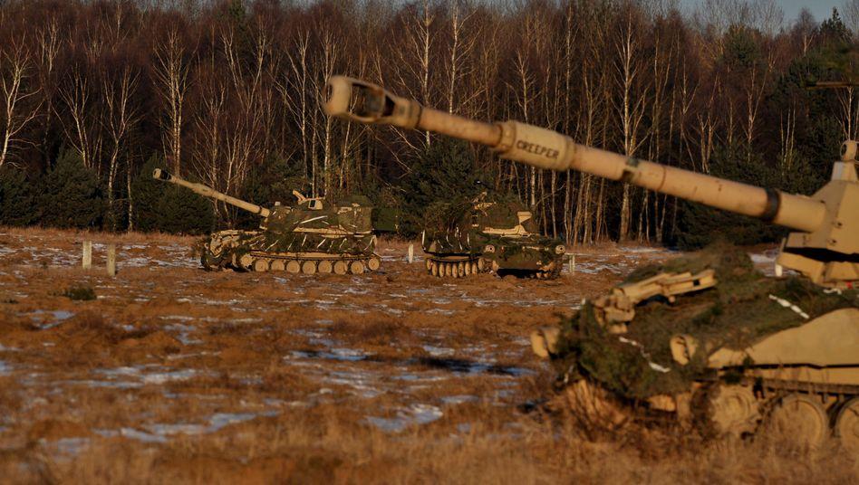 US-Regiment nahe Drawsko Pomorskie in Polen