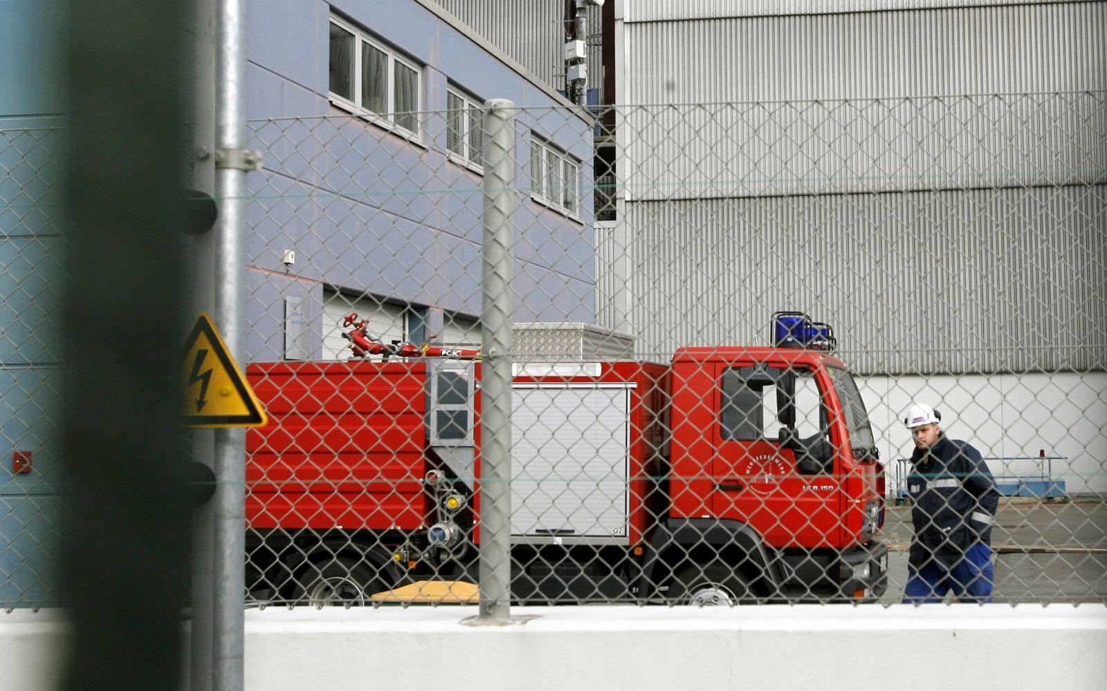 Werksfeuerwehr/ Atomkraftwerk/ Krümmel
