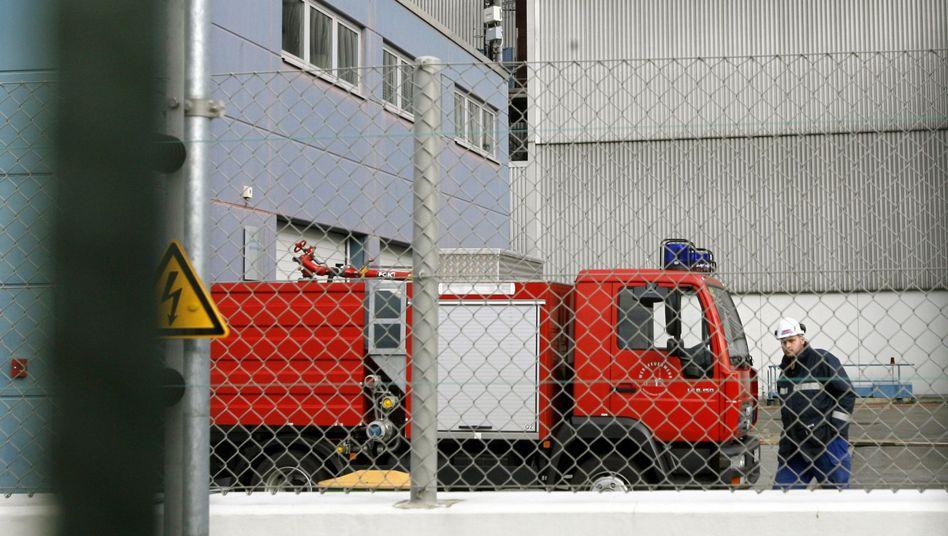 """Wagen der Werksfeuerwehr des AKW Krümmel: """"Wir haben da keine Daten zu"""""""