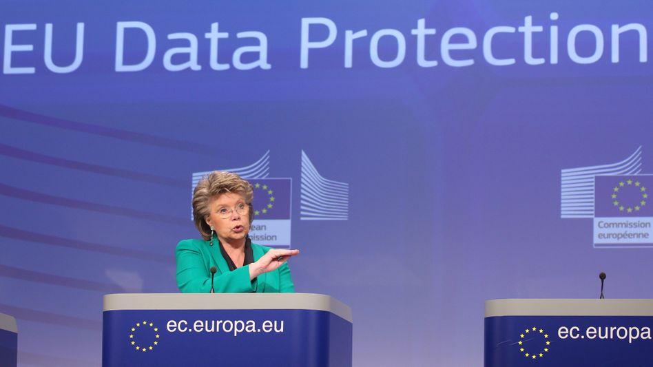 """EU-Justizkommissarin Viviane Reding: """"Zuversichtlich, den Vorschlag durchzubringen"""""""