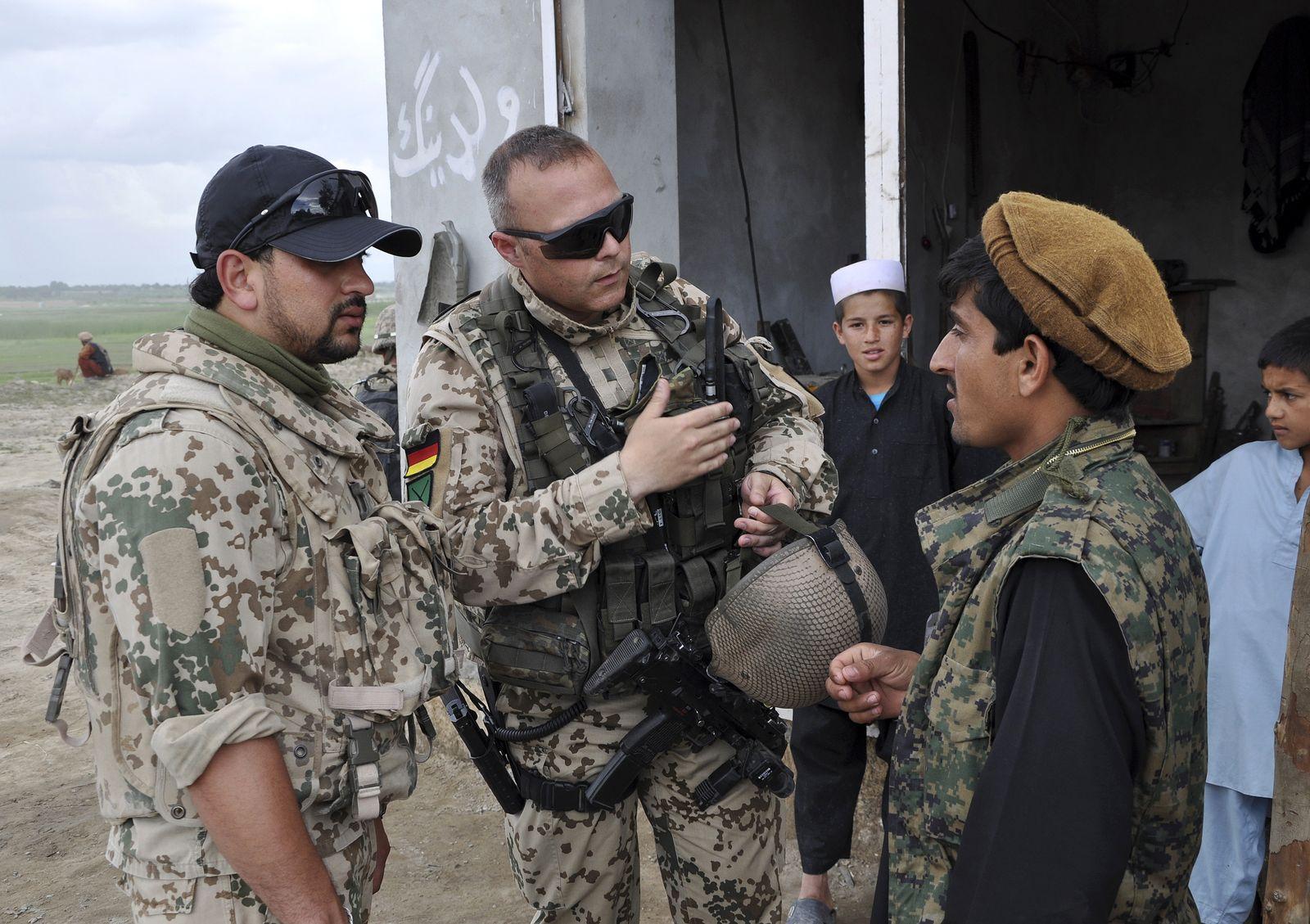Afghanistan / Bundeswehr / Dolmetscher XXL