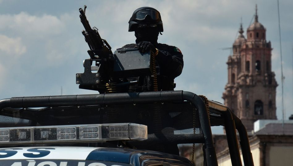 Mexikanischer Polizist (Archivbild)