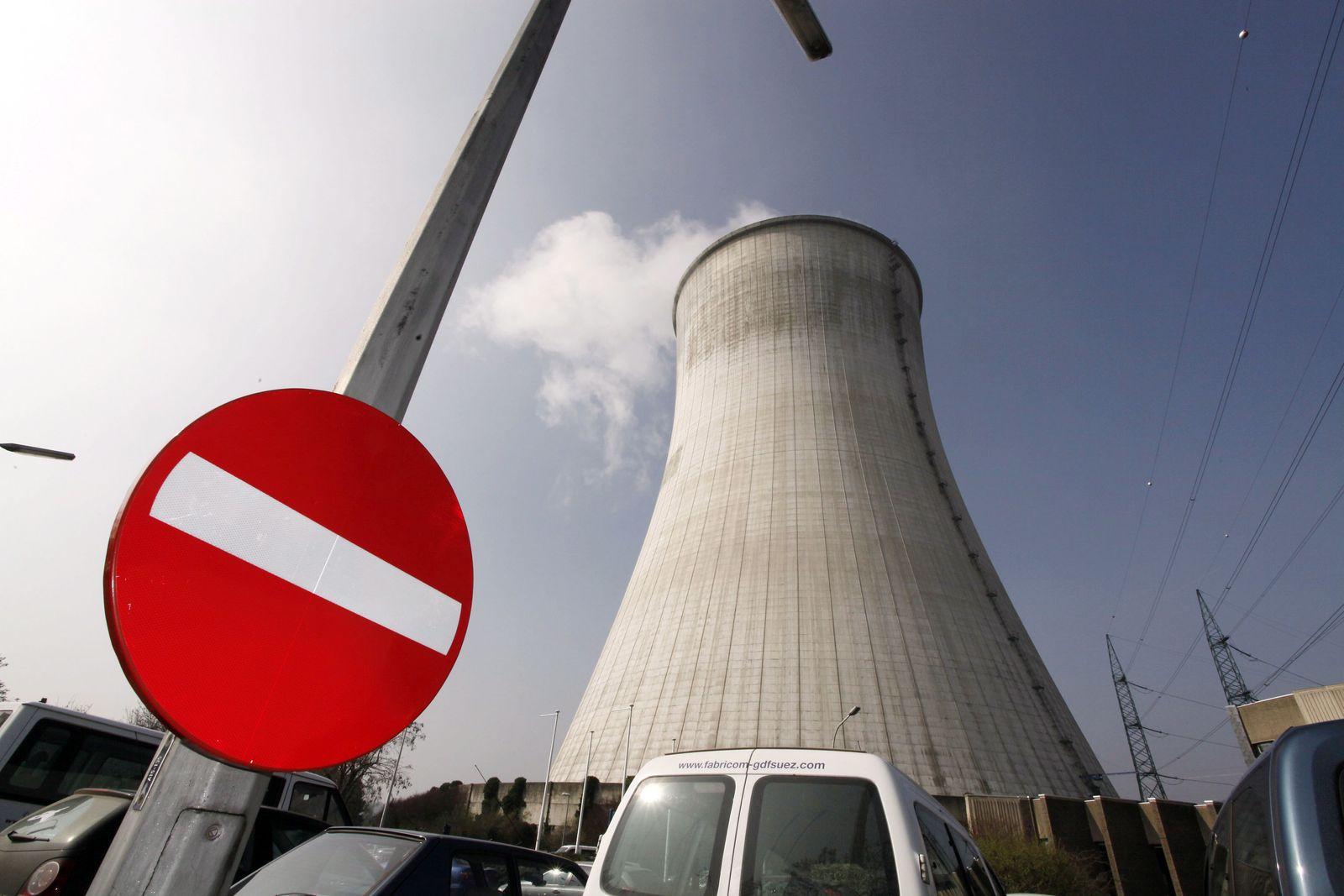 Atomkraftwerk im belgischen Tihange