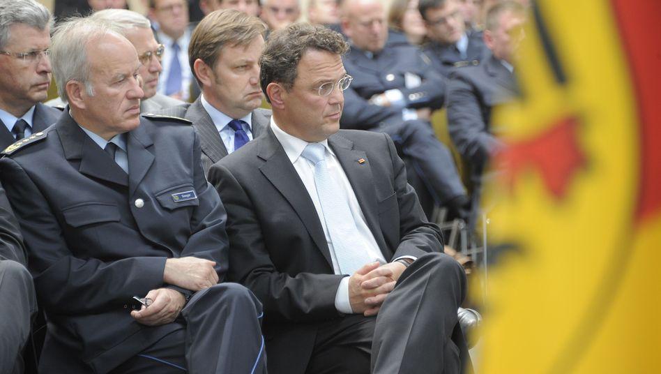 Friedrich (r.) und Seeger (Archivaufnahme aus dem Jahr 2011): Ende der Eintracht