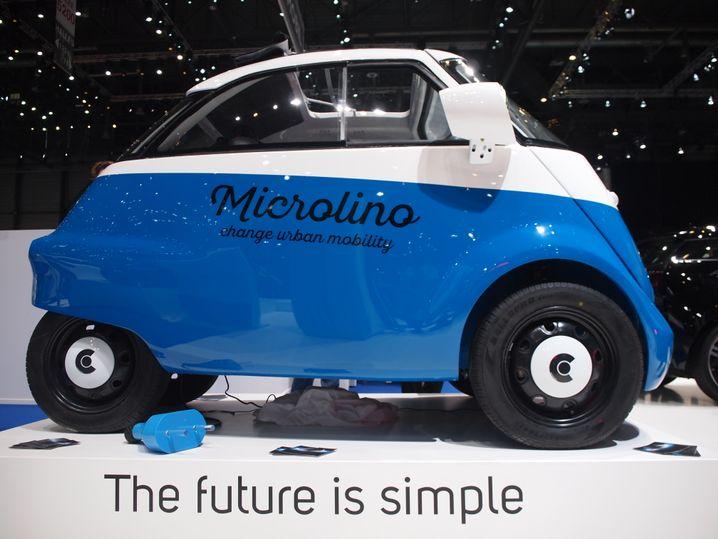 Der Microlino ist eine Isetta mit E-Motor