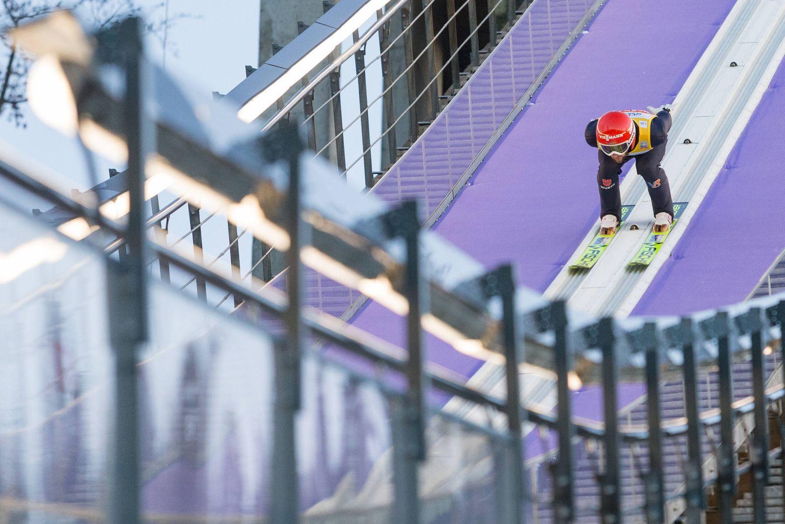 21.11.2020, Wisla, skoki narciarskie, puchar swiata, konkurs druzynowy, N/z Markus Eisenbichler (GER), fot. Tomasz Jastr