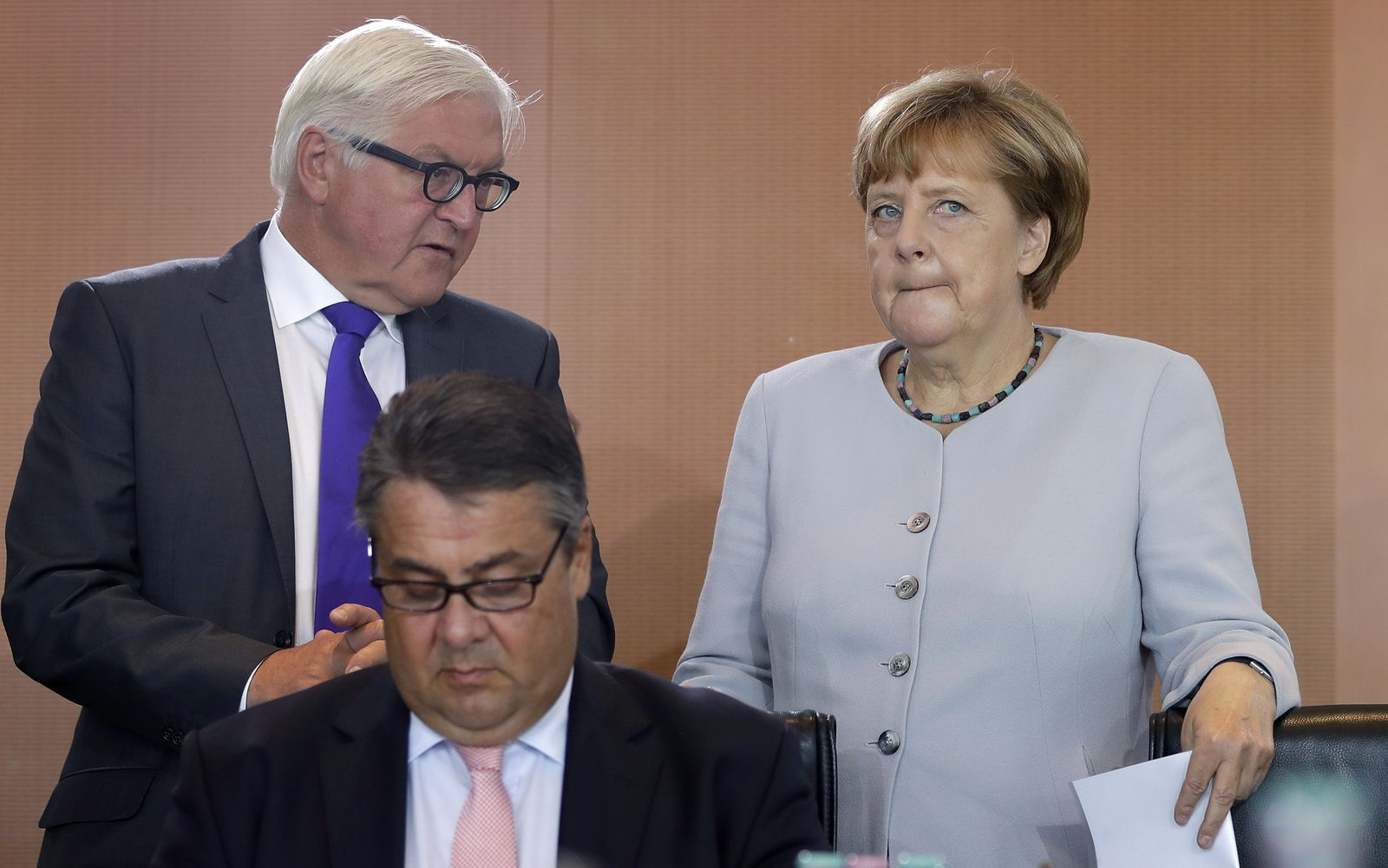 Merkel/ Steinmeier/ Gabriel