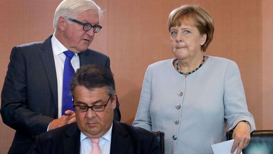 Steinmeier als Bundespräsident: Gabriels Coup, Merkels Einsicht